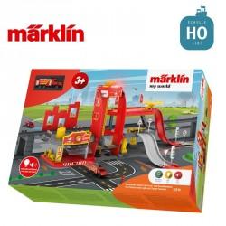 """Caserne de pompier """"my world"""" HO Märklin 72219 - Maketis"""