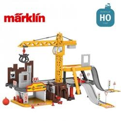 """Station de chantier """"my world"""" HO Märklin 72222 - Maketis"""