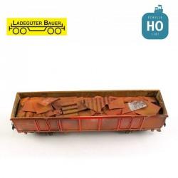 Blechzuschnitte für Eaos-Wagen H0 Ladegüter Bauer H01248