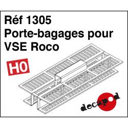 Porte-bagages pour VSE Roco HO Decapod 1305 - Maketis