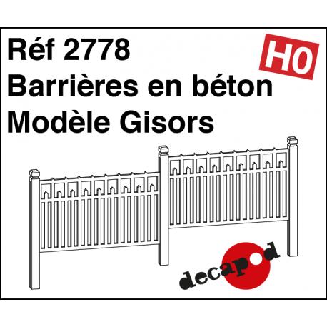Betonsperren Modell Gisors H0 Decapod 2778 - Maketis