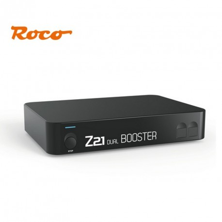Double Booster 2 x 3 A pour centrale digitale Z21 Roco 10807 - Maketis