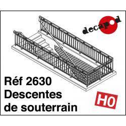 Descentes de souterrain HO Decapod 2630 - Maketis