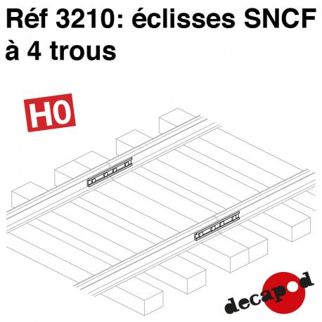 SNCF 4-hole joint bars H0 Decapod 3210 - Maketis