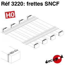 SNCF-Schlafwagenfracht (350 St) H0 Decapod 3220 - Maketis