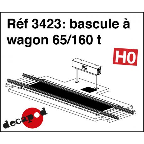Waggonwaage 65/160 t H0 Decapod 3423 - Maketis