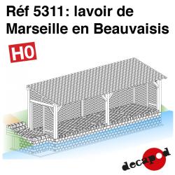 Lavoir de Marseille en Beauvaisis HO Decapod 5311 - Maketis
