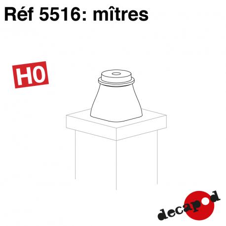 Mitres (8 pcs) HO Decapod 5516 - Maketis