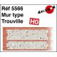 Normannische Wand Typ Trouville H0 Decapod 5566 - Maketis