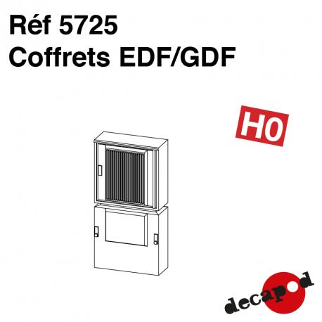 Coffrets EDF/GDF (3 pcs) HO Decapod 5725 - Maketis