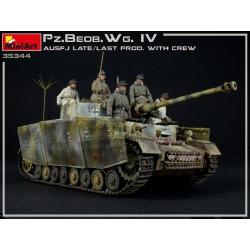 Char allemand Pz.Beob.Wg.IV Ausf. J 1/35 Miniart 35344 - Maketis