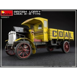 Camion British Lorry LGOC 3t B-Type 1/35 Miniart 38027