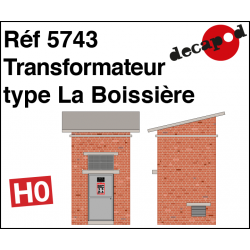 Transformer type La Boissière H0 Decapod 5743 - Maketis