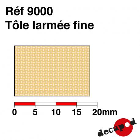 Dünnes Rippenblech Decapod 9000 - Maketis