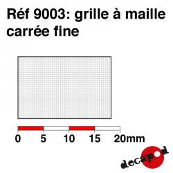 Grille à maille carrée fine Decapod 9003 - Maketis