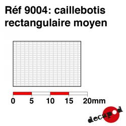 Medium rectangular grating Decapod 9004 - Maketis