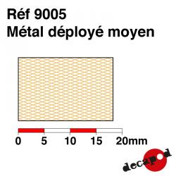Métal déployé moyen Decapod 9005 - Maketis