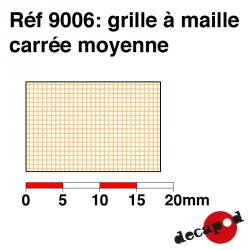 Medium square mesh grid Decapod 9006 - Maketis