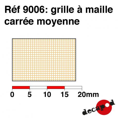 Grille à maille carré moyenne Decapod 9006 - Maketis
