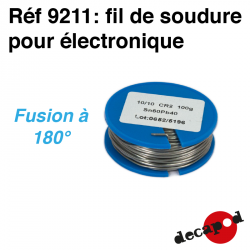Electronic soldering (100 g) Decapod 9211 - Maketis