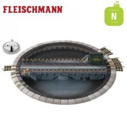 Plaque tournante motorisée 183 mm N Fleischmann 9152
