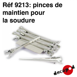 Pinces de maintien pour la soudure Decapod 9213 - Maketis