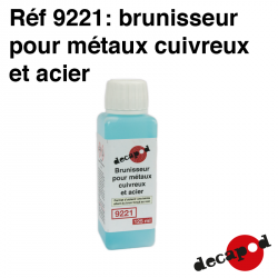 Burnishing product for copper metals and steel (125 ml) Decapod 9221 - Maketis