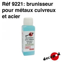 Produit de brunissage pour métaux cuivreux et acier (125 ml) Decapod 9221 - Maketis