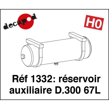 Hilfsbehälter D.300 77L H0 Decapod 1332 - Maketis