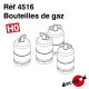 Bouteilles de gaz (8 pcs) HO Decapod 4516 - Maketis