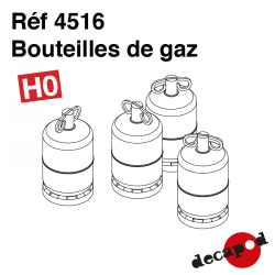 Bouteilles de gaz (8 pcs) HO Decapod 4516