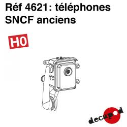 Altes SNCF-Telefon (8 St) H0 Decapod 4621