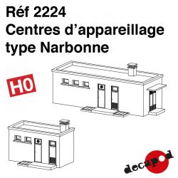 Centres d'appareillage type Narbonne HO Decapod 2224 - Maketis