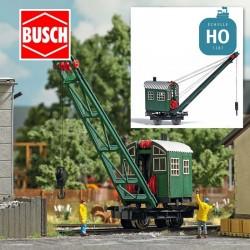 Grue à vapeur HO Busch 1397 - Maketis