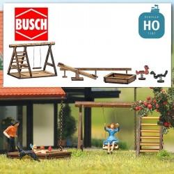 Aire de jeux HO Busch 1485 - Maketis