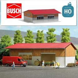 Grange moderne HO Busch 1901 - Maketis