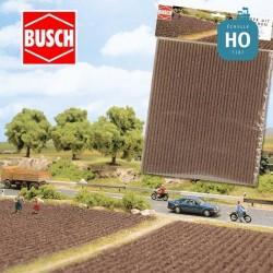 Plaque de champ labouré HO O Busch 7182 - Maketis