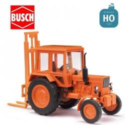 Tracteur avec élévateur MTS-80 HO Busch 51313 - Maketis