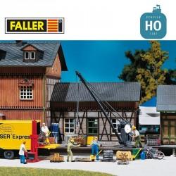 Grue de chargement HO Faller 120129 - Maketis