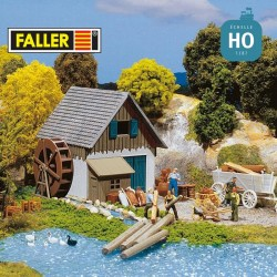 Petit moulin HO Faller 131362 - Maketis