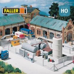 Clôtures métalliques 1010mm HO Faller 180433 - Maketis