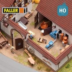 Accessoires agricoles HO Faller 180620 - Maketis
