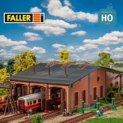 Coffret promotionnel hall voitures HO Faller 190069 - Maketis