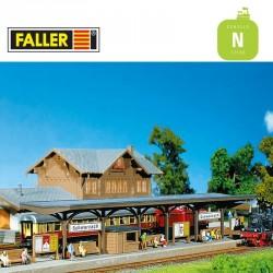 Quai moderne N Faller 222124 - Maketis