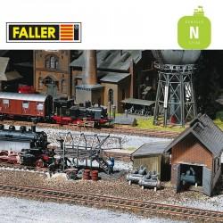 Appareils d'entretien de locomotives N Faller 222138 - Maketis