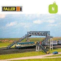 Passerelle pour piétons N Faller 222151 - Maketis