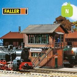 Poste d'aiguillage Mittelstadt N Faller 222161 - Maketis