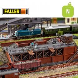 Poste de chargement de charbon N Faller 222163 - Maketis