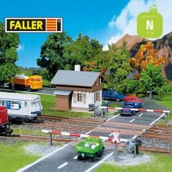 Passage à niveau N Faller 222174 - Maketis