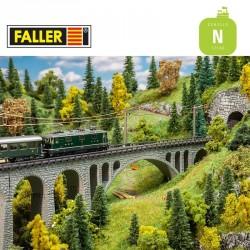 Coffret viaduc Val Tuoi N Faller 222597 - Maketis